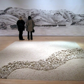 Chalk Installation and Drawing